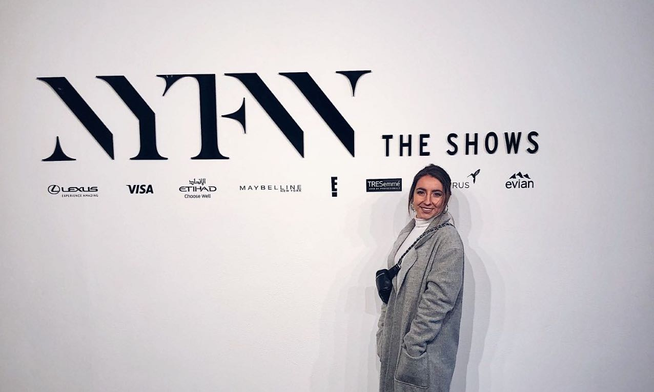 Student Participates in New York Fashion Week