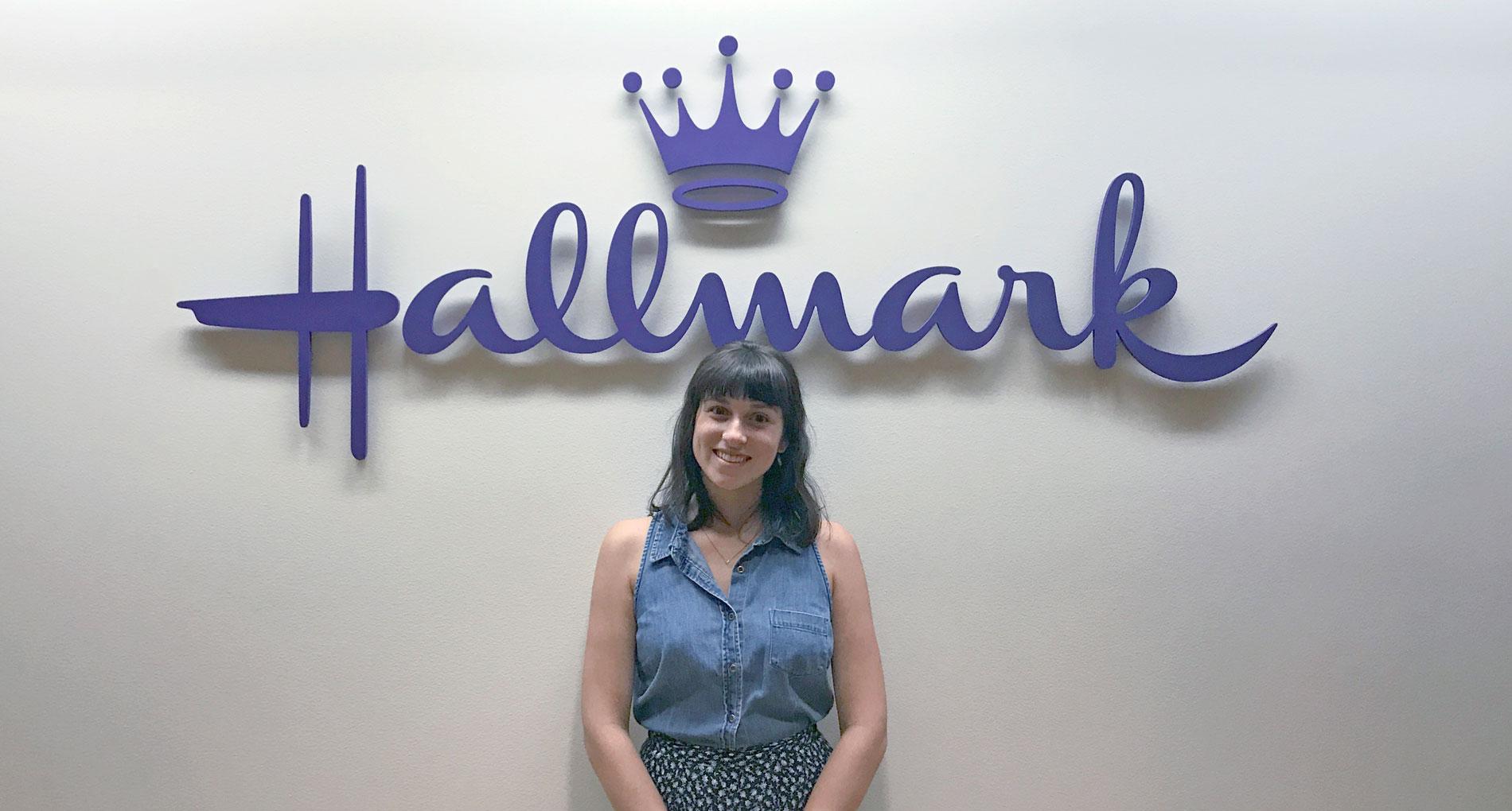 Graphic Design Student Gains Experience with Hallmark Internship