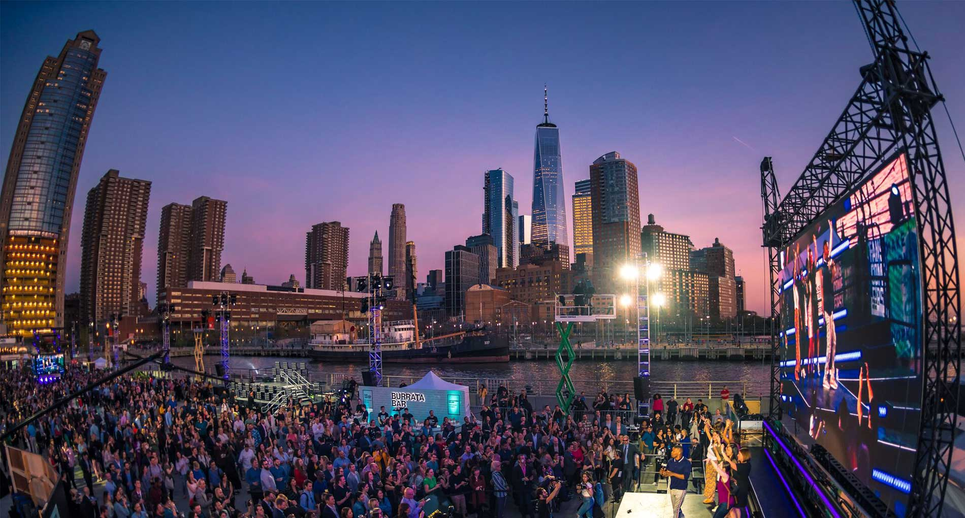 Students Practice Stage Management Skills at New York City Event