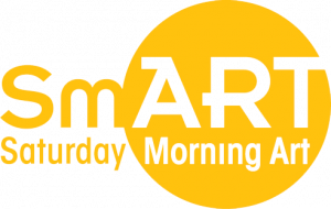 SmART saturday morning art wordmark