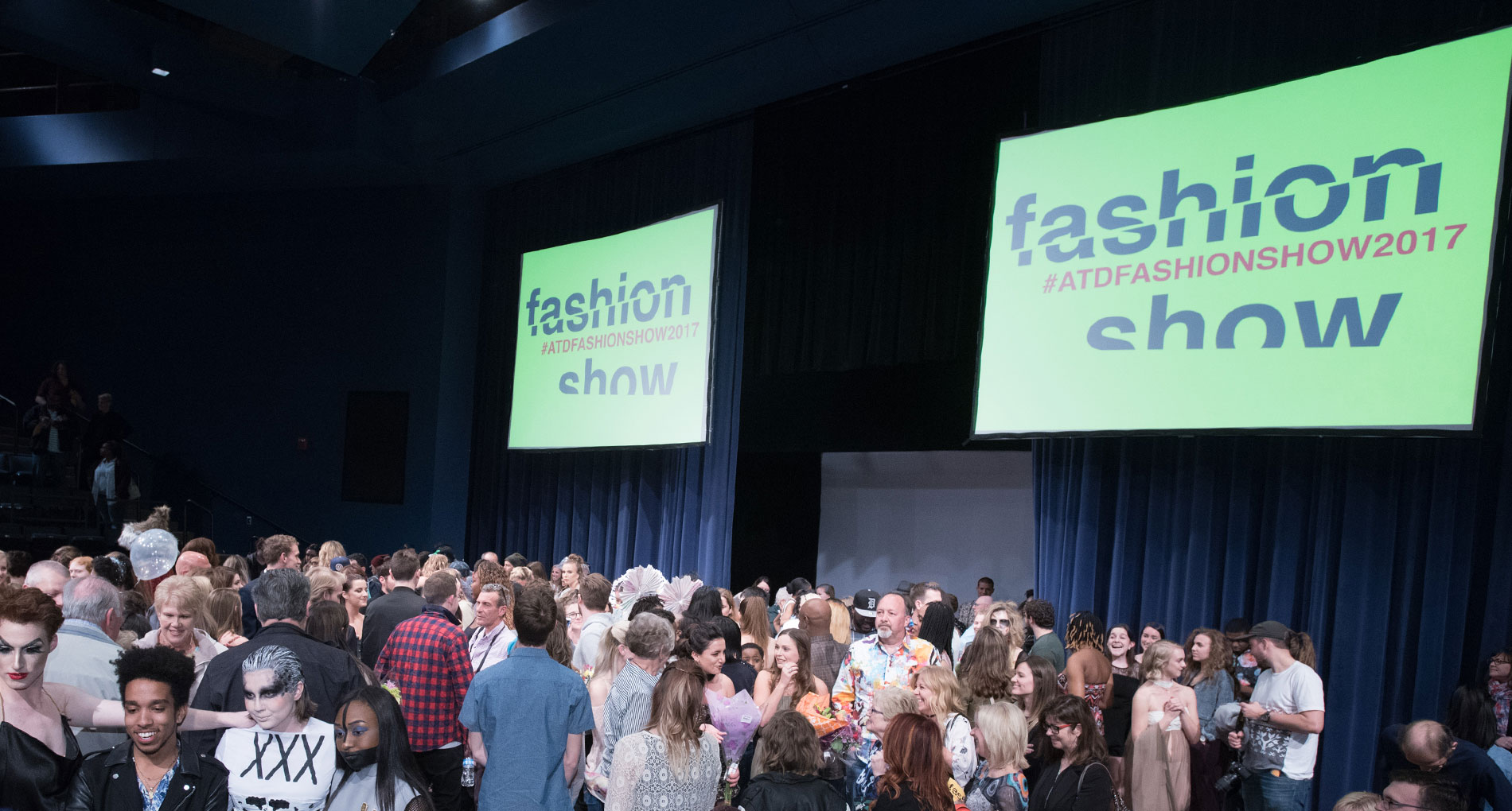 Students Gain Tactical Experience from ATD Fashion Show